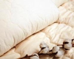 Одеяла хлопок и ватные