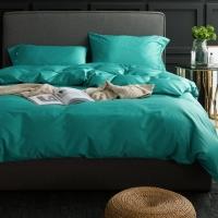 Бирюзовое постельное белье С-028