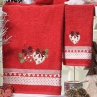 Новогодние полотенца в подарочной упаковке Куори
