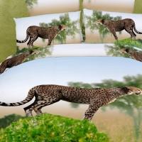 Постельное белье 3D Дикие кошки 094