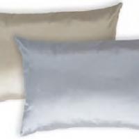 Декоративная наволочка из атласного шелка Силк