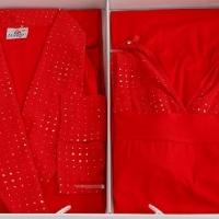 Пеньюар и сорочка Rosso