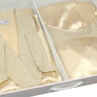 Комплект ночная сорочка и халат Эми
