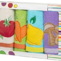 Набор кухонных полотенец Овощи фрукты