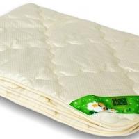 Комплект для кроватки одеяло и подушки для новорожденных овечка