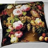 Стильная декоративная подушка Русский романс