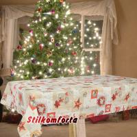 Новогодняя скатерть Рождественский сочельник