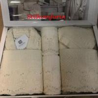 Набор халатов с полотенцами Матр