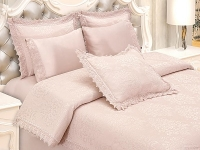 Свадебное постельное белье с покрывалом