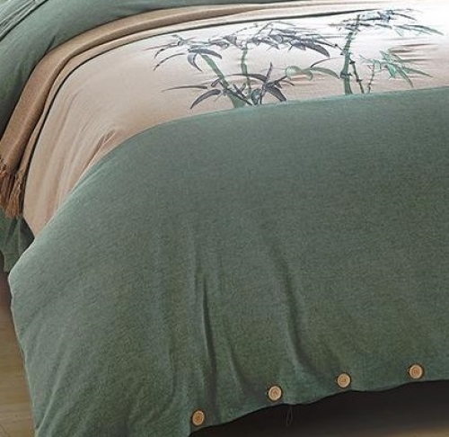 Постельное белье сатин с вышивкой 064V