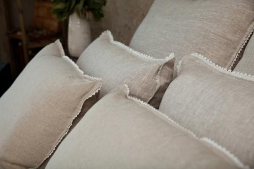 Подушки лен бамбук