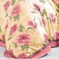 Постельное белье сатин с вышивкой 079