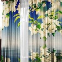 Фотошторы 3d Весна
