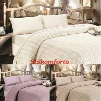 Подарочный постельный комплект с покрывалом Желено