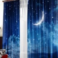 Фотошторы с печатью Ночное небо