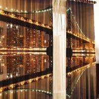 Комплект фотоштор Мост ночью