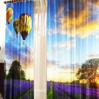Комплект фотоштор Воздушный шар
