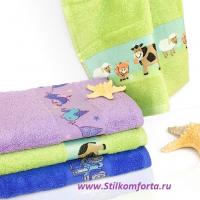 Детский комплект полотенец Киндек