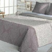 Стильное подарочное покрывало на кровать Колисто лило