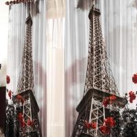 Фотошторы с печатью Париж