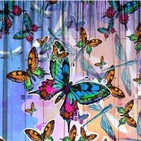 Комплект фотоштор Бабочки