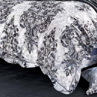 Постельное белье сатин с вышивкой 088