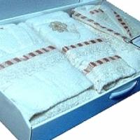 Комплект халатов для семьи Присти