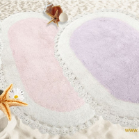 Овальный коврик для ванной Деспи