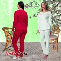 Женская пижама с кружевом Сандра