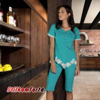 Женская пижама хлопок Сара