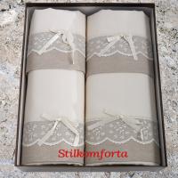 Набор махровых полотенец Марго