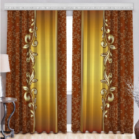 Готовые шторы в комнату Шармель