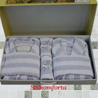 Комплект халатов семейный Дессиерджио