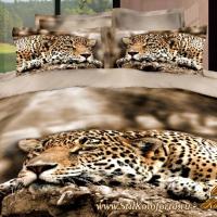 Постельное белье Леопард 130
