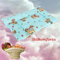 Подушка для новорожденных холлофайбер
