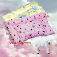Детская подушка овечья шерсть