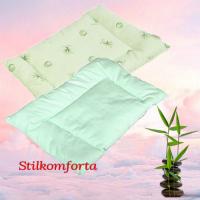 Подушка для новорожденных бамбук