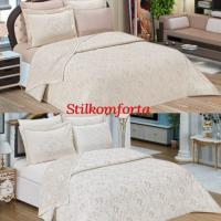 Свадебный постельный набор покрывало Императорский
