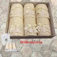 Набор махровых полотенец Поми