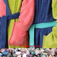 Детский махровый халат с капюшоном Мадер
