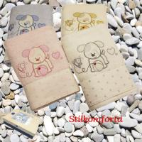 Детские полотенца набор Собачки