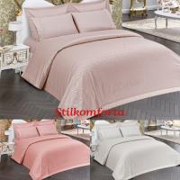 Подарочный постельный комплект Сатено