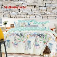 Молодежное постельное белье сатин Сандрия